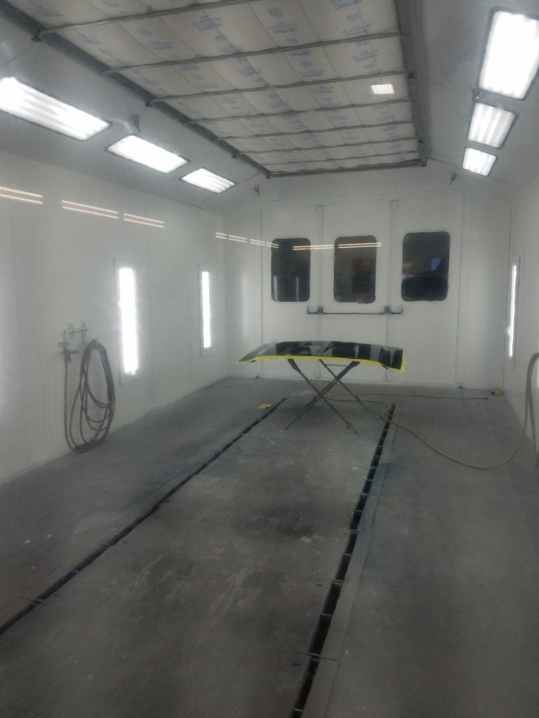 Collision Specialists Paint Booth