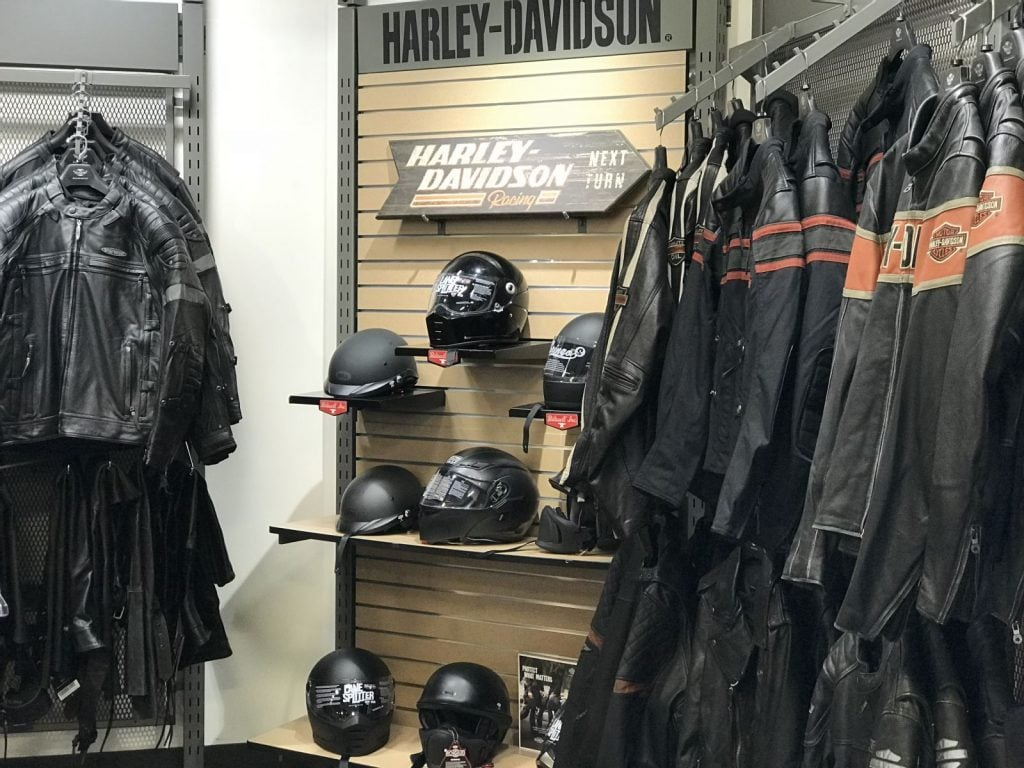Destination Harley Retail Helmets