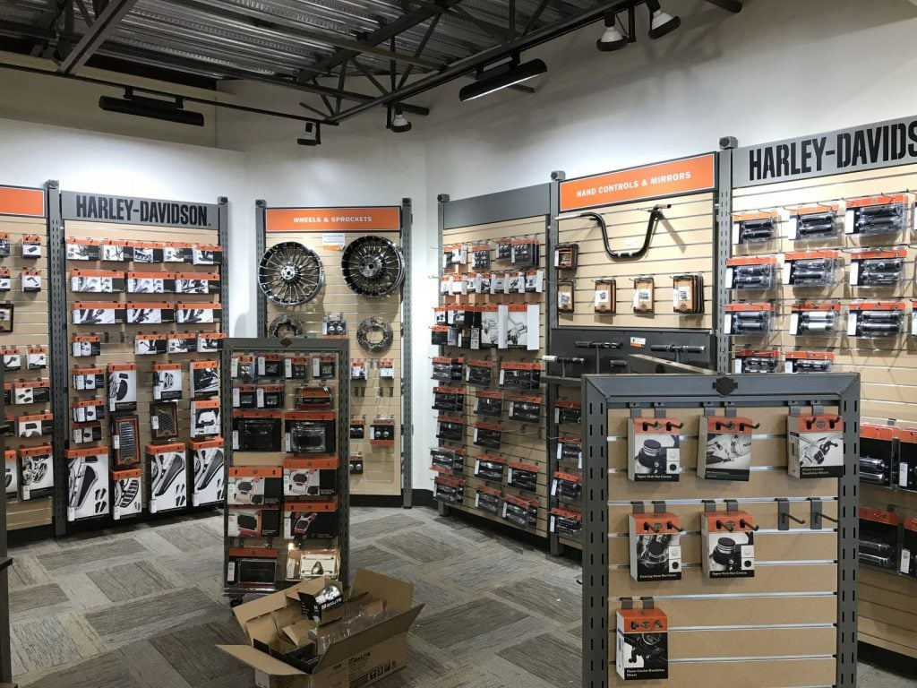 Destination Harley Retail Parts